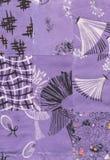 Het patroon van het dekbed Stock Fotografie