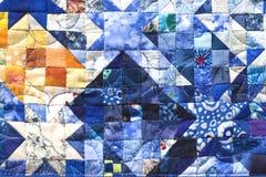 Het patroon van het dekbed Stock Afbeeldingen