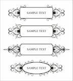 Het patroon van het frame Royalty-vrije Stock Afbeeldingen