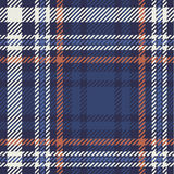 Het patroon van het geruite Schotse wollen stof Royalty-vrije Stock Fotografie