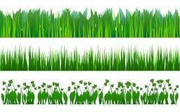 Het patroon van het gras Stock Foto