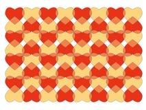 Het patroon van het hart Royalty-vrije Stock Foto's