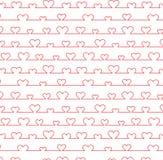 Het patroon van het hart Stock Foto