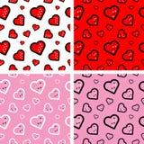 Het Patroon van het hart Royalty-vrije Stock Foto