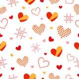 Het Patroon van het hart Royalty-vrije Stock Afbeeldingen