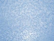Het patroon van het ijs Stock Foto