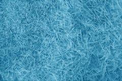 Het patroon van het ijs Stock Fotografie