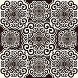 het patroon van het jaren '70behang Royalty-vrije Stock Afbeeldingen