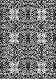 Het patroon van het kant Stock Foto