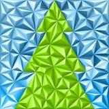Het Patroon van het Kerstmismozaïek Stock Afbeelding