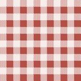 Het patroon van het keukentafelkleed. Stock Foto's