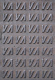 Het patroon van het mangat Royalty-vrije Stock Afbeelding