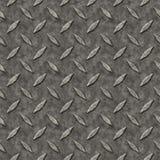 Het Patroon van het Metaal van de Plaat van de diamant Stock Afbeelding