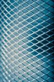 Het patroon van het metaalnetwerk Stock Foto's