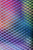 Het patroon van het metaalnetwerk Stock Afbeeldingen