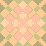 Het patroon van het mozaïek Stock Foto's