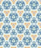 Het patroon van het mozaïek Royalty-vrije Stock Foto's
