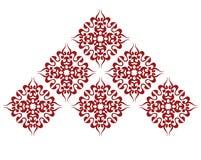 Het patroon van het mozaïek stock illustratie
