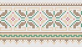 Het patroon van het mozaïek Royalty-vrije Stock Foto
