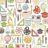 Het patroon van het onderwijs Royalty-vrije Stock Foto's