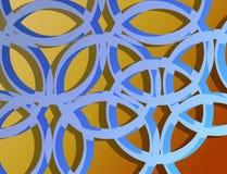 Het patroon van het ontwerp Stock Afbeelding