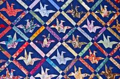 Het Patroon van het origamidekbed Stock Afbeelding