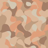 het patroon van het pastelkleurmozaïek, kleurrijk voor de bruine achtergrond van de kleurentextuur, Royalty-vrije Stock Foto