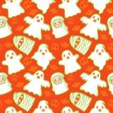 Het Patroon van het spook en van de Demon Royalty-vrije Stock Afbeelding