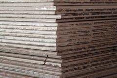 Het patroon van het staal Stock Afbeeldingen