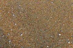 Het patroon van het strandzand Stock Afbeelding
