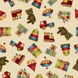 Het patroon van het stuk speelgoed Royalty-vrije Stock Fotografie