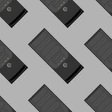 Het patroon van het systeemblok Stock Foto's