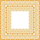 Het patroon van het tafelkleedgeruite schots wollen stof Royalty-vrije Illustratie