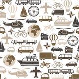 Het patroon van het vervoer Stock Afbeelding