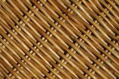 Het patroon van het weefsel van een mand Royalty-vrije Stock Afbeeldingen