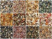 Het patroon van het zand stock fotografie