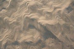 Het patroon van het zand Royalty-vrije Stock Afbeelding