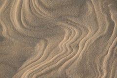 Het patroon van het zand Royalty-vrije Stock Fotografie