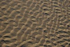 Het patroon van het zand Royalty-vrije Stock Afbeeldingen