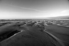 Het patroon van het zand Royalty-vrije Stock Foto's