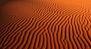 Het Patroon van het Zand van de woestijn Royalty-vrije Stock Foto's