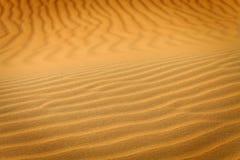 Het patroon van het zandduin Royalty-vrije Stock Foto's