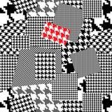 Het patroon van Houndstooth stock illustratie