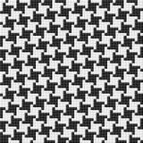 Het patroon van Houndstooth. Naadloze vector. Royalty-vrije Stock Fotografie