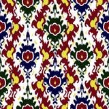Het patroon van Ikat stock illustratie