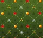 Het patroon van Kerstmis Royalty-vrije Stock Fotografie