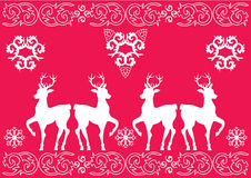 Het Patroon van Kerstmis Royalty-vrije Stock Afbeelding