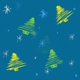 Het patroon van Kerstmis Stock Illustratie