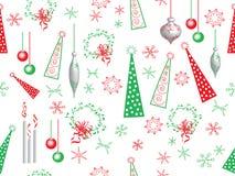 Het patroon van Kerstmis Stock Foto