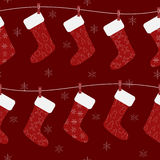 Het patroon van Kerstmis Stock Afbeeldingen
